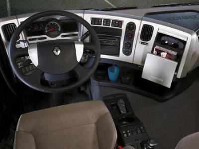 Renault premium les camion s 39 est ma passion for Interieur camion renault t